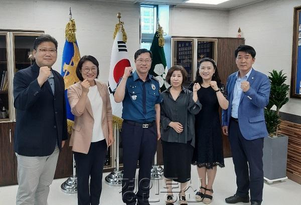 22화성시 지역구 도·시의원-화성동탄경찰서장 면담.jpg