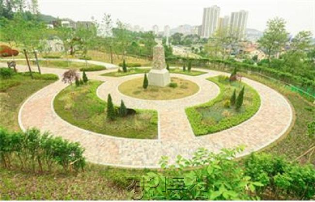 평화공원 내 구유엔군초전기념비.jpg