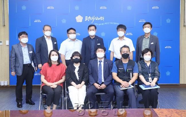 210913 평택(의회) 평택시의회 이종한 의원, 직업상담사 정규직 전환 관련 간담회 개최.JPG